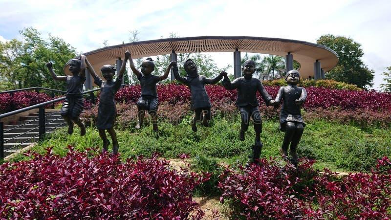 Πάρκο σε Betong, Ταϊλάνδη στοκ φωτογραφίες