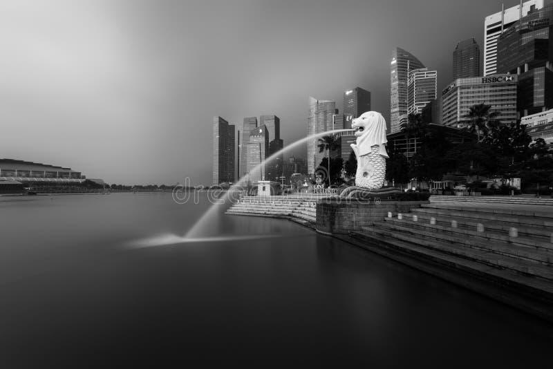 πάρκο Σινγκαπούρη merlion στοκ εικόνες με δικαίωμα ελεύθερης χρήσης