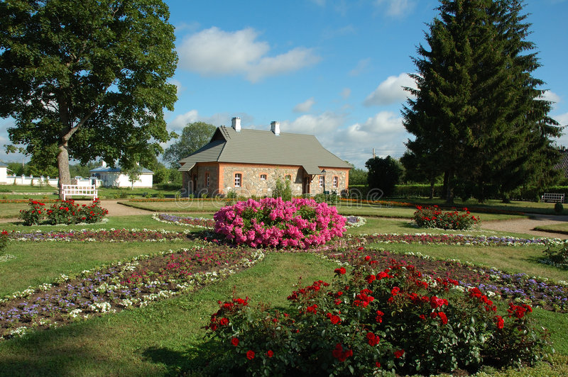πάρκο σπιτιών στοκ φωτογραφία με δικαίωμα ελεύθερης χρήσης