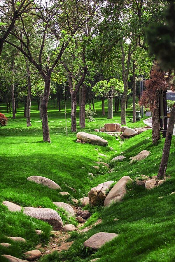 Πάρκο στην πόλη στοκ εικόνα
