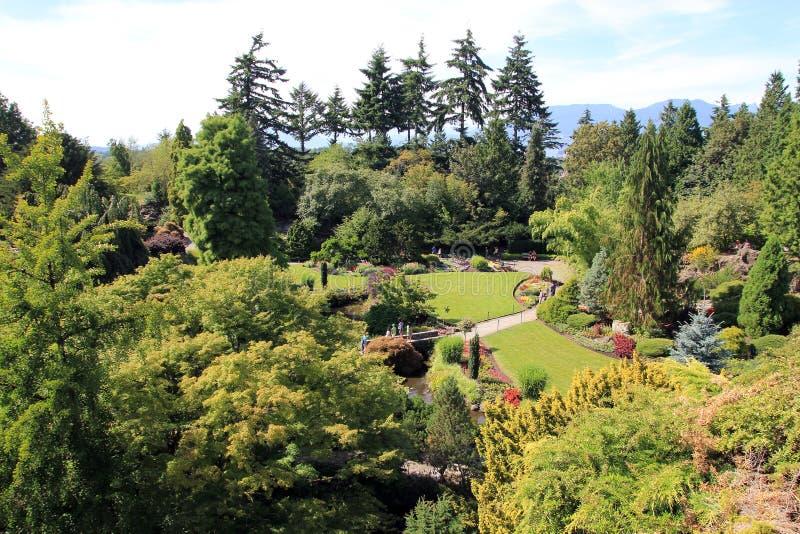 Πάρκο στο Βανκούβερ στοκ εικόνες