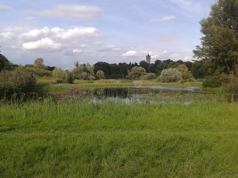 Πάρκο στο Πότσνταμ στοκ φωτογραφία με δικαίωμα ελεύθερης χρήσης