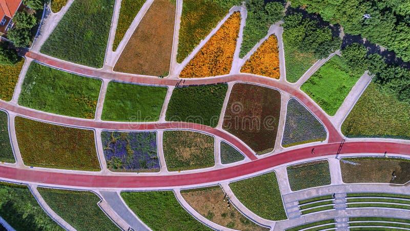 Πάρκο της Ανατολικής Ακτής Huahai αεροφωτογραφίας στοκ εικόνα με δικαίωμα ελεύθερης χρήσης