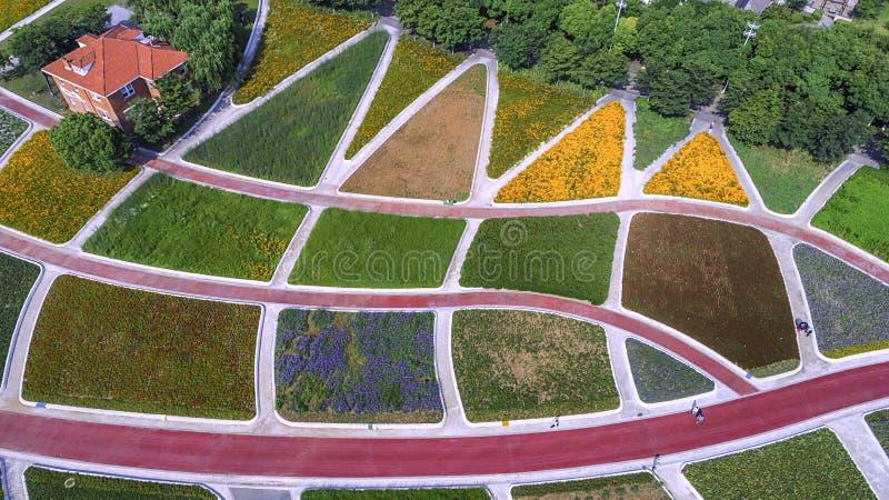 Πάρκο της Ανατολικής Ακτής Huahai αεροφωτογραφίας στοκ εικόνα