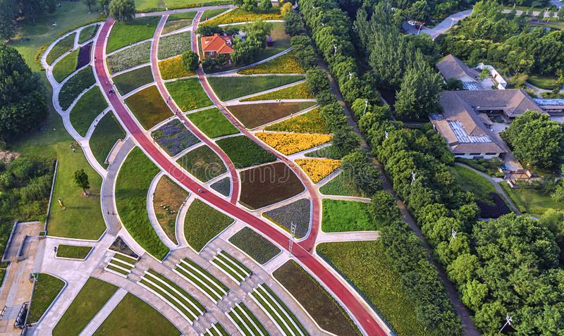 Πάρκο της Ανατολικής Ακτής Huahai αεροφωτογραφίας στοκ φωτογραφίες