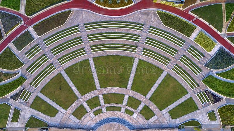 Πάρκο της Ανατολικής Ακτής Huahai αεροφωτογραφίας στοκ εικόνες