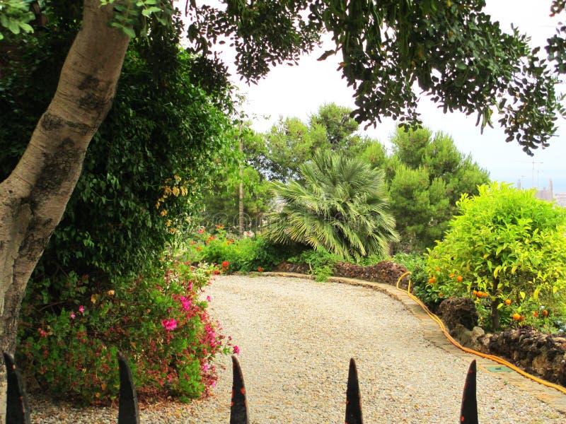 Πάρκο της Βαρκελώνης Guell στοκ εικόνες με δικαίωμα ελεύθερης χρήσης