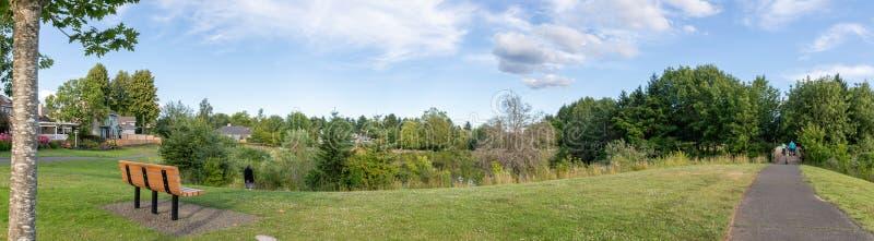 """Πάρκο της πόλης Summerlake στο Tigard Ï""""Î¿Ï… Όρεγκον στοκ εικόνες"""
