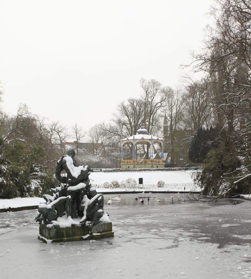 Πάρκο της Astrid Koningin στοκ εικόνα