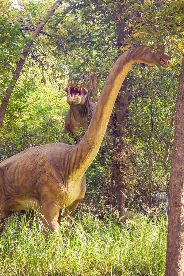 Πάρκο της Dino στοκ εικόνες