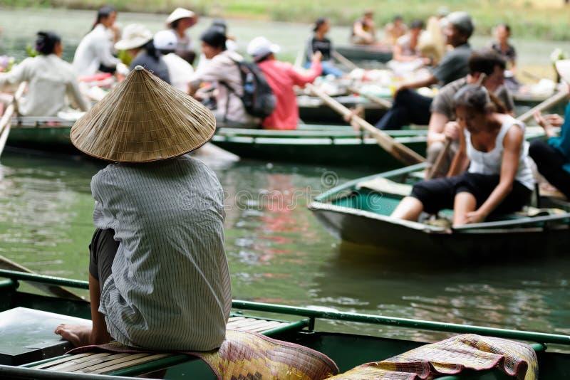 Πάρκο του Βιετνάμ Tam Coc Natioanl, στοκ φωτογραφία