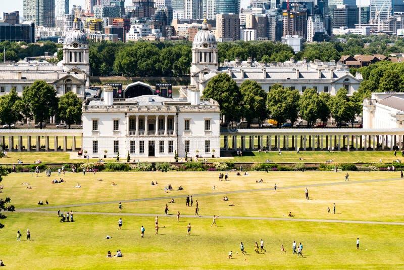 Πάρκο του Γκρήνουιτς στο Λονδίνο στοκ φωτογραφίες