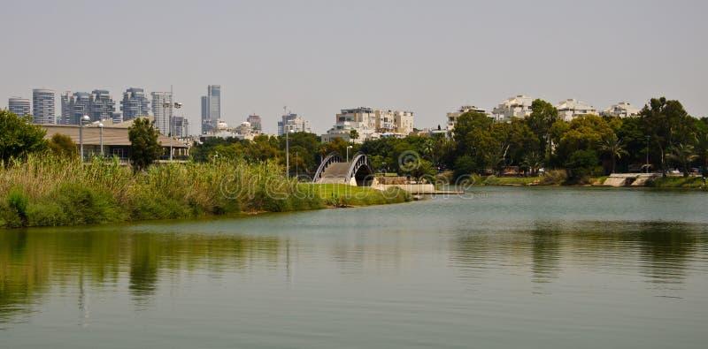 Πάρκο του Τελ Αβίβ στοκ φωτογραφία με δικαίωμα ελεύθερης χρήσης