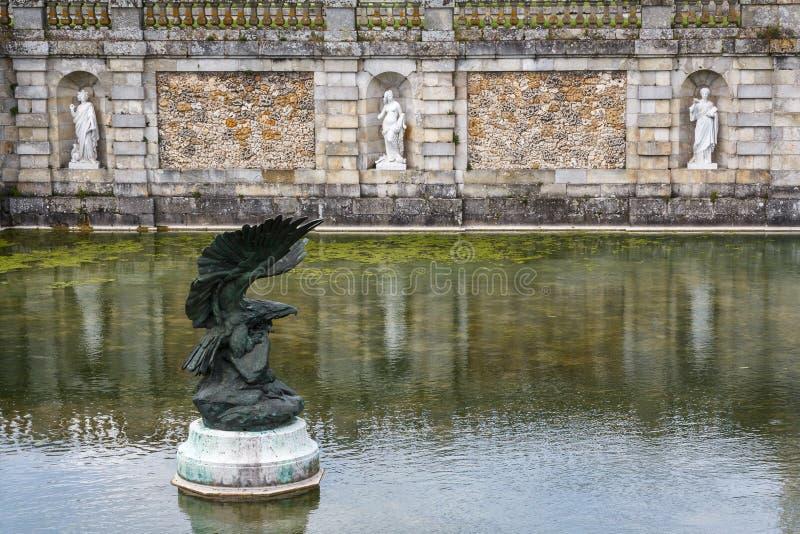 Πάρκο του Φοντενμπλώ στοκ εικόνα με δικαίωμα ελεύθερης χρήσης