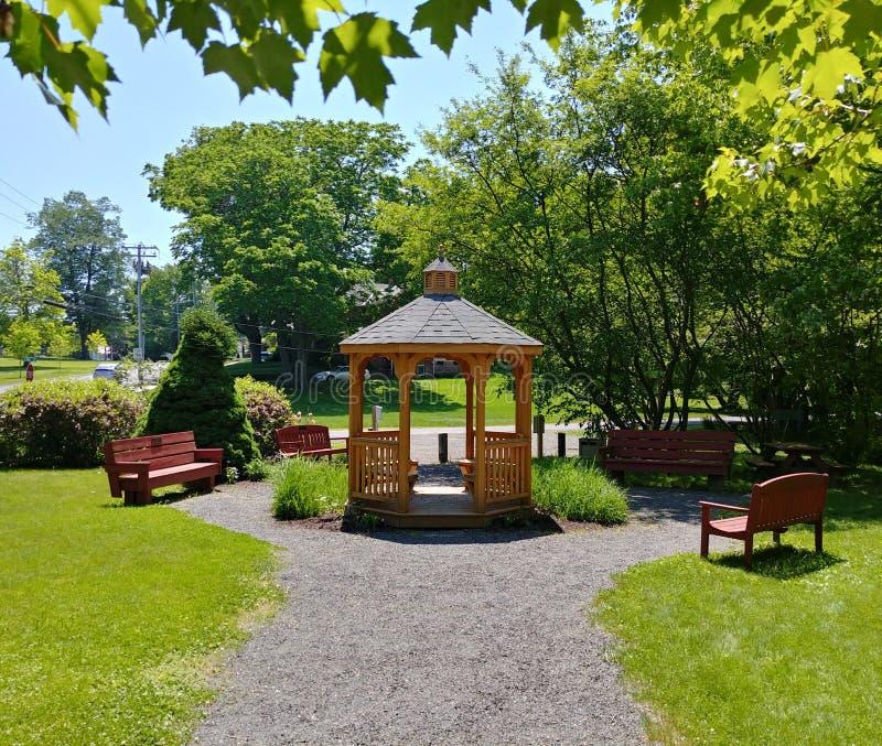 Πάρκο του John Bator σε Easthampton, Μασαχουσέτη στοκ εικόνα με δικαίωμα ελεύθερης χρήσης