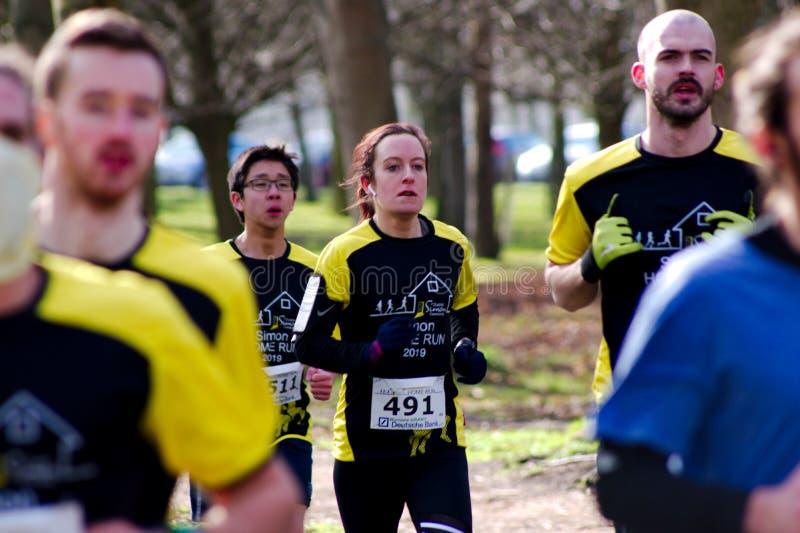 Πάρκο του Phoenix, Δουβλίνο, Ιρλανδία στις 9 Απριλίου 2019: Εγχώριο τρέξιμο 8K του Simon στοκ φωτογραφίες με δικαίωμα ελεύθερης χρήσης