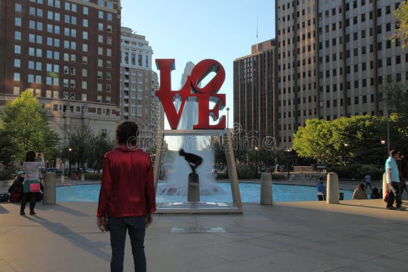 Πάρκο Φιλαδέλφεια αγάπης στοκ εικόνα με δικαίωμα ελεύθερης χρήσης