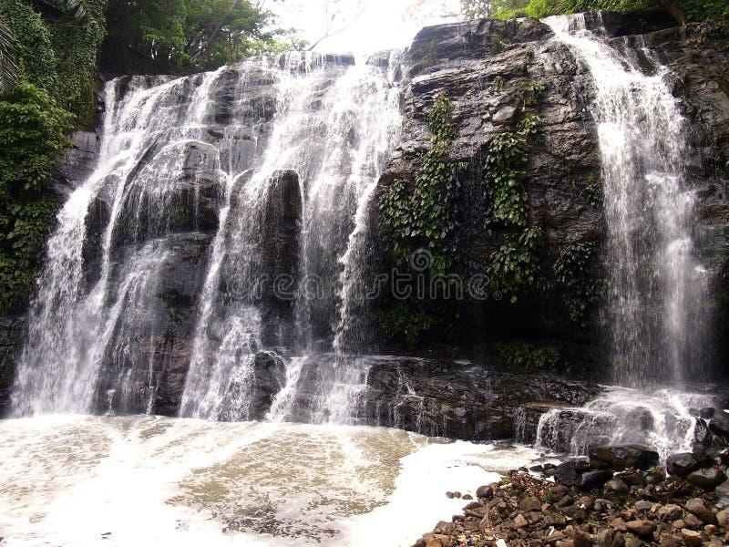 Πάρκο φύσης Taktak Hinulugang στην πόλη οδικού Antipolo Taktak, Φιλιππίνες στοκ εικόνες