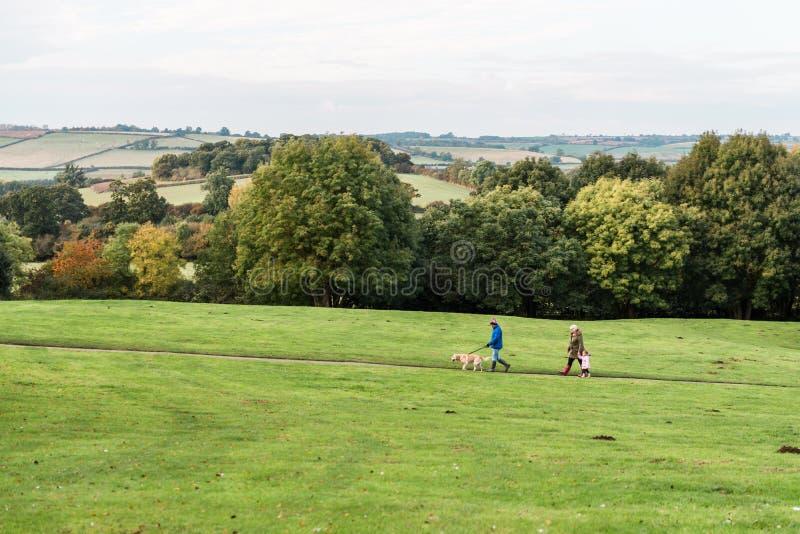 Πάρκο χωρών του Carlton, Αγγλία στοκ εικόνες με δικαίωμα ελεύθερης χρήσης