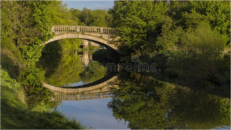 Πάρκο χώρας Pollok - Γλασκώβη στοκ φωτογραφία