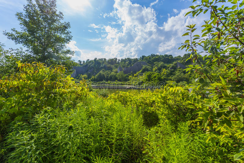 Πάρκο Bluffs Scarborough Τορόντο στοκ εικόνα με δικαίωμα ελεύθερης χρήσης