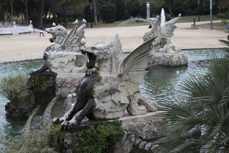 Πάρκο Ciutadella στοκ εικόνα