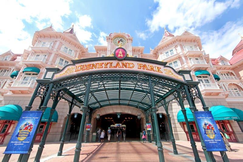 Πάρκο Disneyland στοκ εικόνα με δικαίωμα ελεύθερης χρήσης