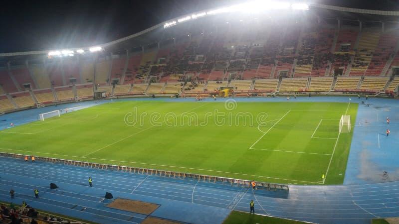 Πάρκο gradski stadion Footbal skopje στοκ εικόνες με δικαίωμα ελεύθερης χρήσης