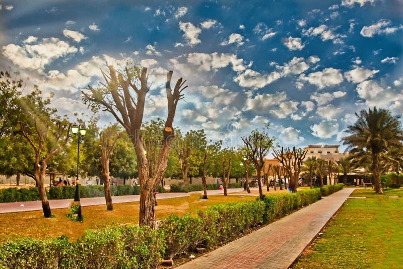 Πάρκο Helio σε Ajman στοκ φωτογραφία με δικαίωμα ελεύθερης χρήσης