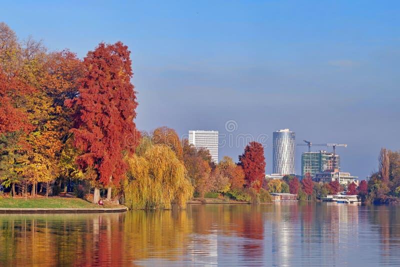 Πάρκο Herastrau στοκ εικόνα με δικαίωμα ελεύθερης χρήσης