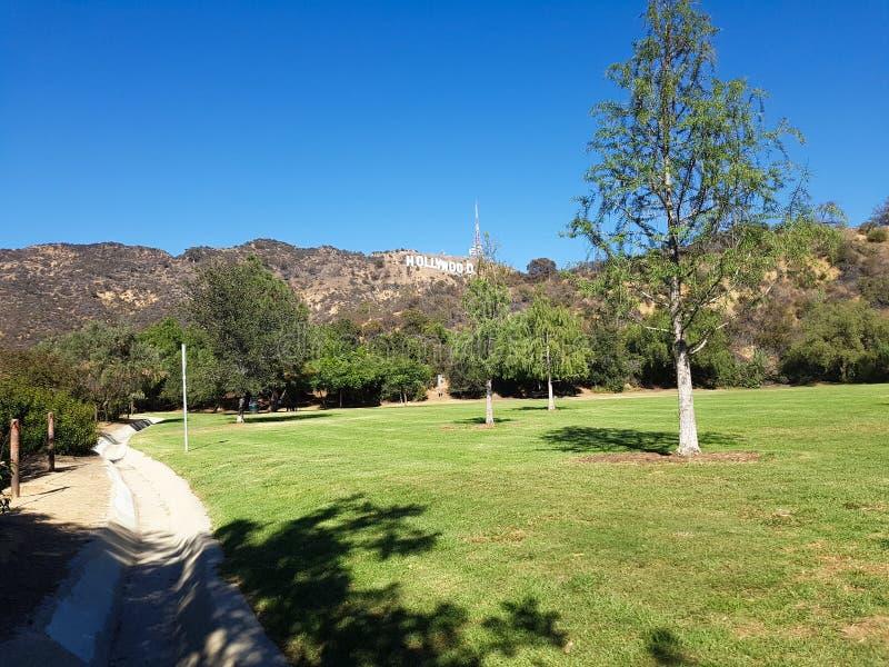 Πάρκο Hollywood στοκ εικόνα με δικαίωμα ελεύθερης χρήσης