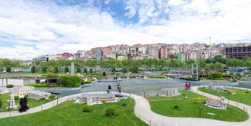 Πάρκο Miniaturk στη Ιστανμπούλ στοκ φωτογραφία