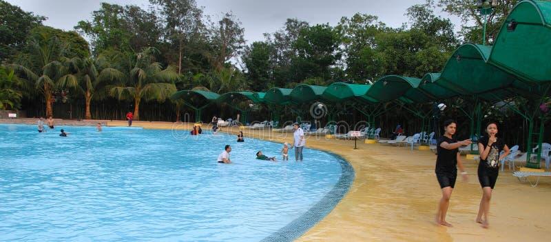 πάρκο nicco kolkata της Ινδίας στοκ φωτογραφία