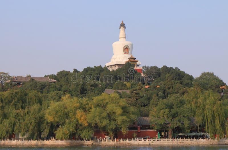 Πάρκο Qiongdao Πεκίνο Κίνα Beihai στοκ εικόνες