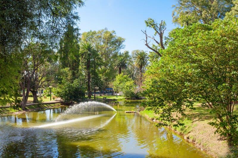 Πάρκο Sarmiento στην Κόρδοβα στοκ φωτογραφίες με δικαίωμα ελεύθερης χρήσης