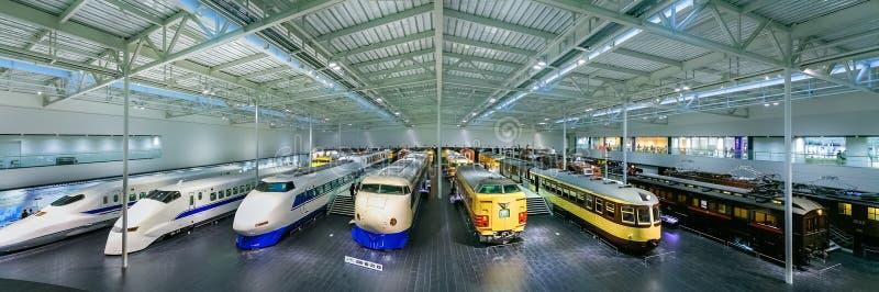Πάρκο SCMaglev και σιδηροδρόμων στο Νάγκουα, Ιαπωνία στοκ φωτογραφίες με δικαίωμα ελεύθερης χρήσης