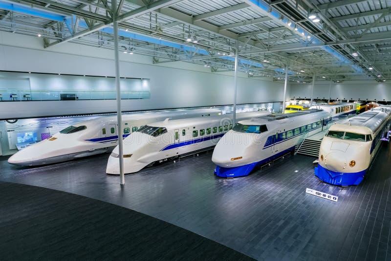 Πάρκο SCMaglev και σιδηροδρόμων στο Νάγκουα, Ιαπωνία στοκ φωτογραφίες