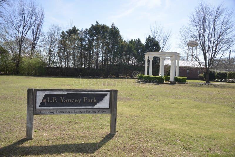 Πάρκο Somerville, Τένεσι Yancey στοκ εικόνες