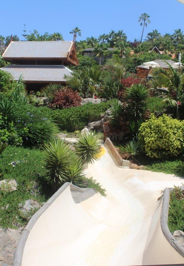 Πάρκο Tenerife νερού του Σιάμ στοκ εικόνα με δικαίωμα ελεύθερης χρήσης