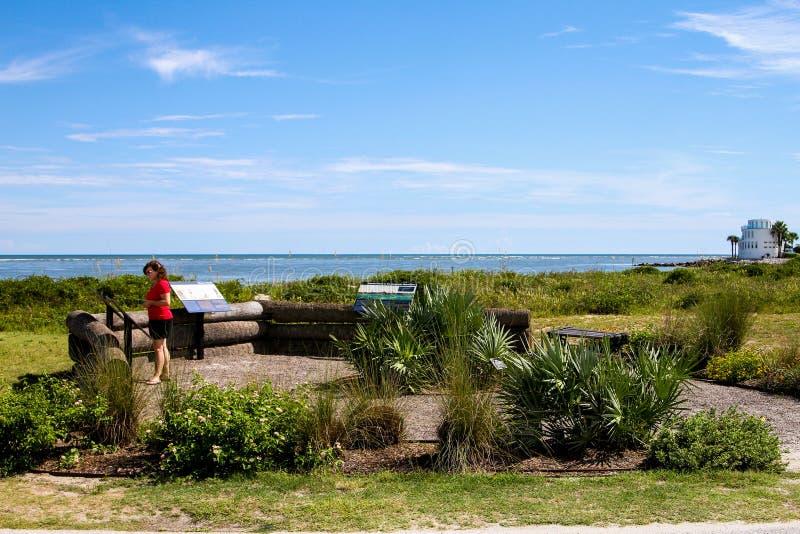 Πάρκο Thomson, νησί του Sullivan, νότια Καρολίνα στοκ εικόνες με δικαίωμα ελεύθερης χρήσης