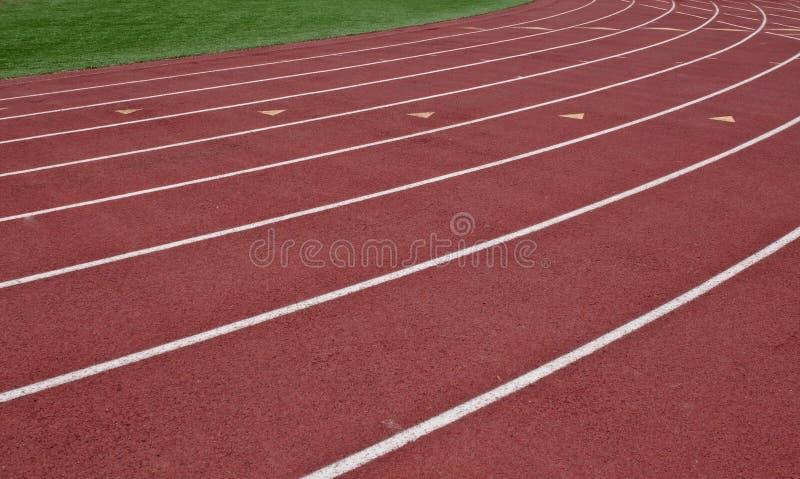 Πάροδοι μιας τρέχοντας διαδρομής στοκ εικόνες