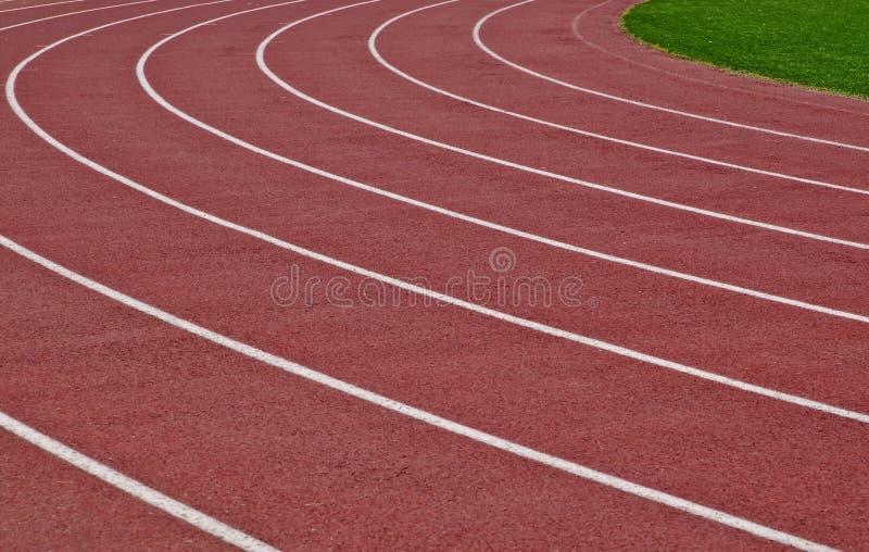 Πάροδοι μιας τρέχοντας διαδρομής στοκ εικόνα