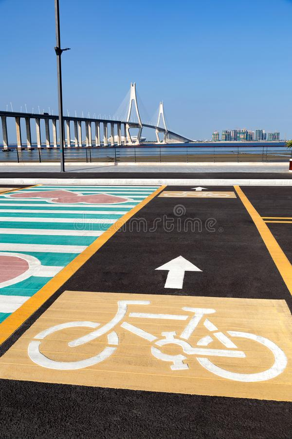 Πάροδοι ποδηλάτων στοκ φωτογραφίες με δικαίωμα ελεύθερης χρήσης
