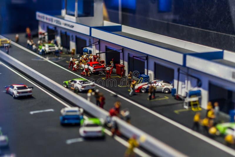 Πάροδος κοιλωμάτων Grand Prix στοκ εικόνα