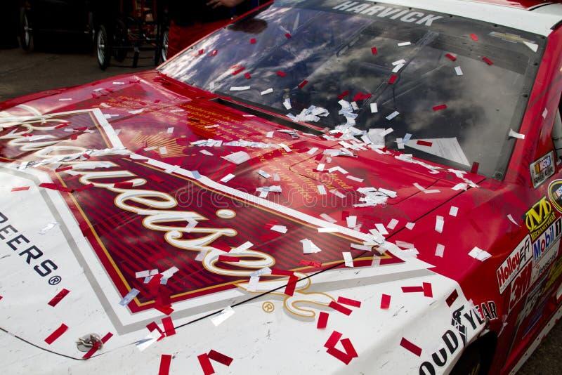 Πάροδος νίκης NASCAR διεθνές Raceway του Phoenix στοκ εικόνες με δικαίωμα ελεύθερης χρήσης