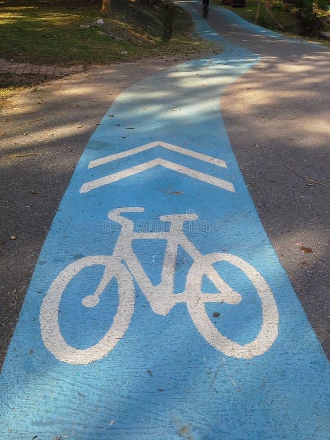 Πάροδος ποδηλάτων, Hadyai, Songkhla, Ταϊλάνδη στοκ εικόνα με δικαίωμα ελεύθερης χρήσης