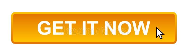 Πάρτε αυτό κουμπώνει τώρα διανυσματική απεικόνιση