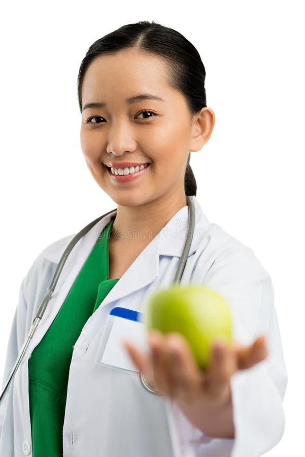 Πάρτε αυτό το μήλο στοκ φωτογραφία με δικαίωμα ελεύθερης χρήσης