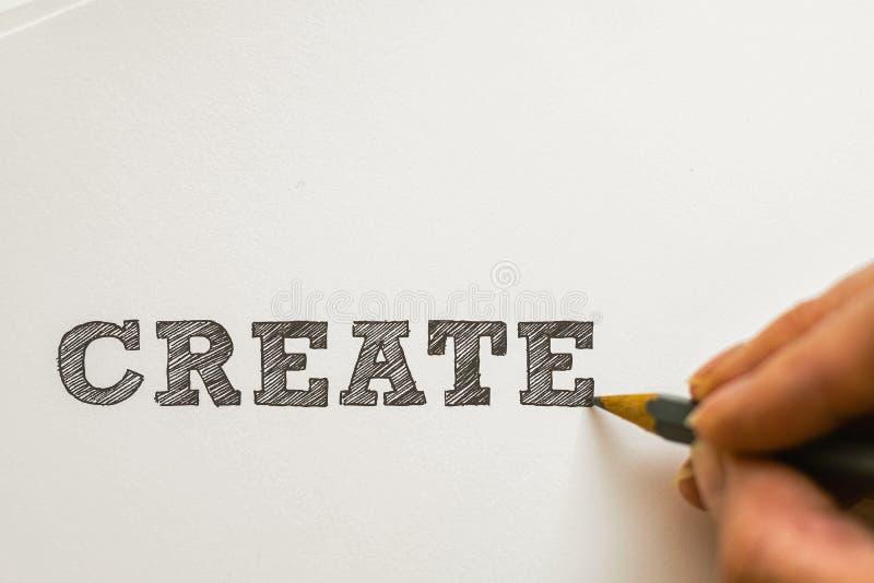 Πάρτε δημιουργικός στοκ εικόνες