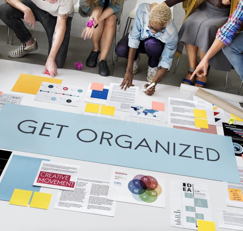 Πάρτε την οργανωμένη έννοια διοικητικού προγραμματισμού στοκ φωτογραφίες με δικαίωμα ελεύθερης χρήσης
